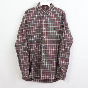 Polo Ralph Lauren Mens 16.5 42 Plaid Dress Shirt